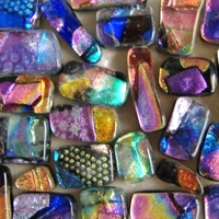 Fused Glass Pendants and Cabochons